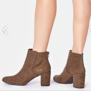 Justfab Aubra booties